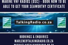 Short Range Certificate courses for marine vhf radios (dsc)